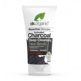 DR ORGANIC ACTIVATED CHARCOAL PEELING DO TWARZY  125ML