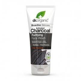 DR ORGANIC ACTIVATED CHARCOAL ŻEL DO MYCIA TWARZY  200ML