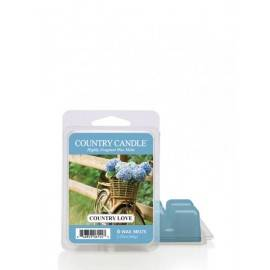 KRINGLE CANDLE WOSK ZAPACHOWY COUNTRY LOVE 64G