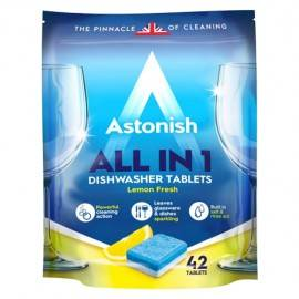 ASTONISH ALL IN 1 DISHWASHER TABLETKI DO ZMYWARKI 42'S