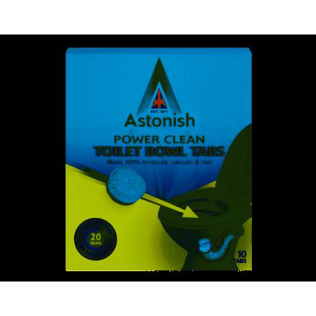 ASTONISH TOILET BOWL CLEANER TABLETKI DO CZYSZCZENIA TOALETY 10SZTUK