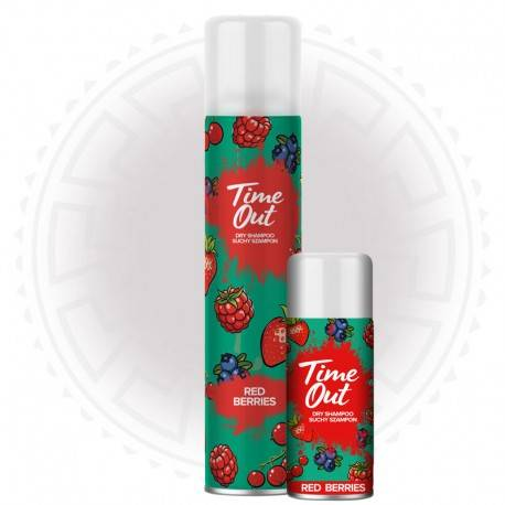 TIME OUT SUCHY SZ/WŁ 200ML RED BE