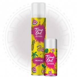 TIME OUT SUCHY SZAMPON - TROPICAL 200ML