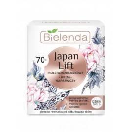 BIELENDA JAPAN LIFT 70+ KREM NAPRAWCZY  NA DZIEŃ  50ML