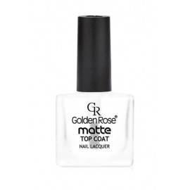 GOLDEN ROSE MATTE TOP COAT MATOWY UTRWALACZ DO LAKIERU