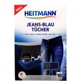 HEITMANN JEANS +BLAU TUCHER 10 SZT.- CHUSTECZKI FARBUJĄCE DO JEANSÓW
