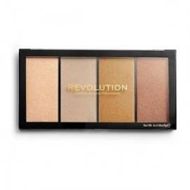 MAKEUP REVOLUTION RE-LOADED LUSTRE LIGHTS HEATWAVE PALETA DO KONTUROWANIA