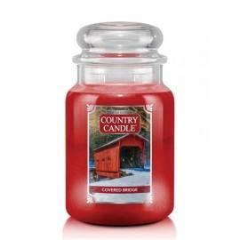 COUNTRY CANDLE ŚWIECA  COVERED BRIDGE 680G