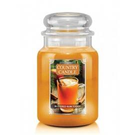 COUNTRY CANDLE ŚWIECA  BUTTERED RUM TODDY 680G