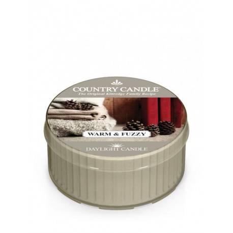 COUNTRY CANDLE ŚWIECA  WARM & FUZZY 35G
