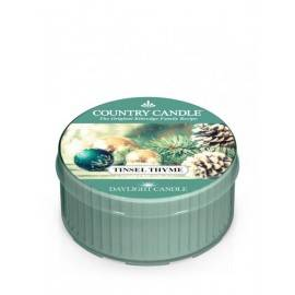 COUNTRY CANDLE ŚWIECA  TINSEL THYME 35G