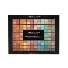 MAKEUP REVOLUTION ZESTAW COLOUR PALETTE 196 CIENI
