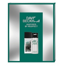 DAVID BECKHAM INSPIRED BY RESPECT DEO NATURAL75 ML + DEO 150 ML
