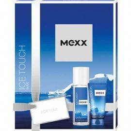 MEXX ZESTAW MEN ICE TOUCH DNS 75ML + ŻEL POD PRYSZNIC 50ML