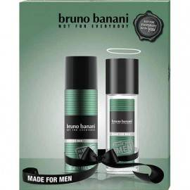 BRUNO BANANI MEN ZESTAW MADE FOR MAN DNS 75ML + DEZODORANT 150ML