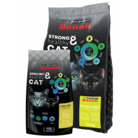 BENEK KARMA DLA KOTÓW STRONG & HEALTHY CAT- STERILISED 250G