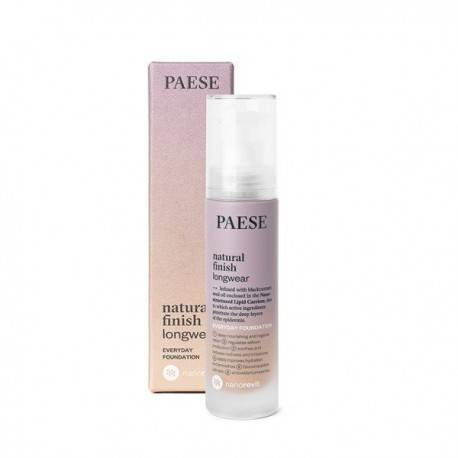 PAESE PODKŁAD NATURAL FINISH LONGWEAR NANOREVIT NR 06 HONEY 35ML