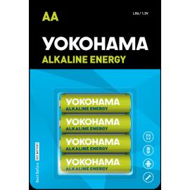 YOKOHAMA BATERIA ENERGY MAX AA LR6 4SZTUKI