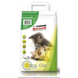 SUPER BENEK CORN CAT ŚWIEŻA TRAWA 25L