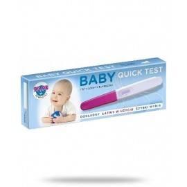 BABY QUICK TEST CIĄZOWY STRUMIENIOWY NIEBIESKI