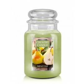 COUNTRY CANDLE ŚWIECA  BARTLETT PEAR 680G
