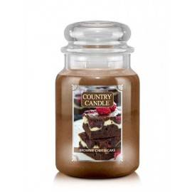 COUNTRY CANDLE ŚWIECA  BROWNIE CHEESECAKE 680G