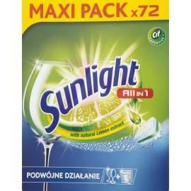 SUNLIGHT ALL IN 1 TABLETKI DO ZMYWARKI REGULAR 72SZTUK