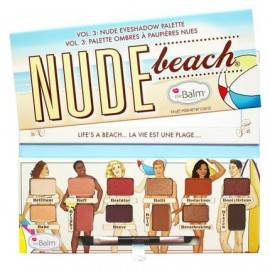 THE BALM  NUDE BEACH PALETA CIENI