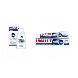 LACALUT PAKIET FLORA PASTA 75ML+ PŁYN DO PŁUKANIA 300ML