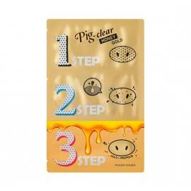 HOLIKA PIG CLEAR BLACK HEAD 3STEP HONEY GOLD