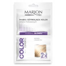 MARION  COLOR ESPERTO MASKA OŻYWIAJĄCA KOLOR BLOND 2X20ML