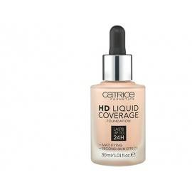CATRICE HD LIQUID COVERAGE PODKŁAD 010 LIGHT BEIGE 30ML