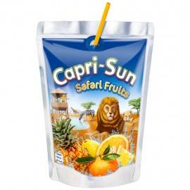 CAPRI SUN NAPÓJ OWOCOWY 0,2L SAFARI FRUITS