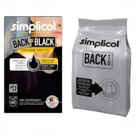 SIMPLICOL BACK TO BLACK FARBA DO TKANIN - INTENSYWNY CZARNY 400G