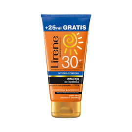 LIRENE SUN EMULSJA DO OPALANIA  SPF30 150ML