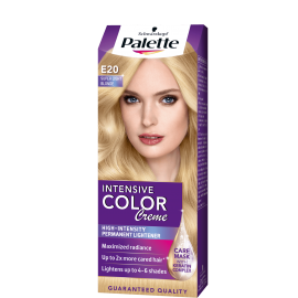 PALETTE INTENSIVE COLOR CREME FARBA DO WŁOSÓW E20 SUPER JASNY BLOND