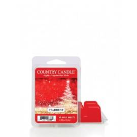 COUNTRY CANDLE WOSK ZAPACHOWY  STARDSUST 64G