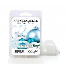 KRINGLE CANDLE WOSK ZAPACHOWY 64G TINSEL THYME