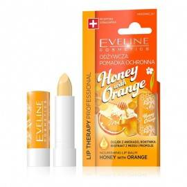 EVELINE LIP THERAPY POMADKA ODŻYWCZA DO UST HONEY WITH ORANGE
