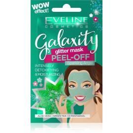 EVELINE GALAXITY GLITTER MASK GREEN