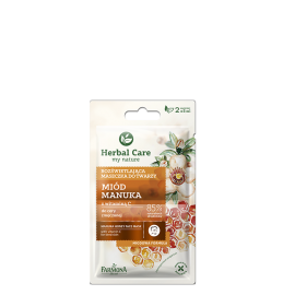 FARMONA HERBAL CARE MASECZKA DO TWARZY MIÓD MANUKA 2X5ML