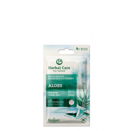 FARMONA HERBAL CARE MASECZKA DO TWARZY  ALOES 2X5ML