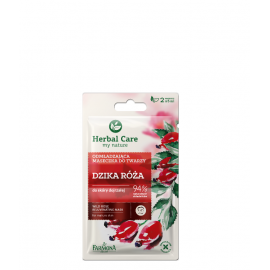 FARMONA HERBAL CARE MASECZKA DO TWARZY DZIKA RÓŻA 2X5ML