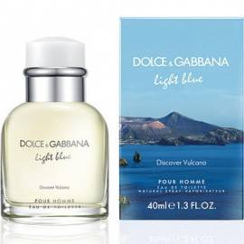DOLCE & GABBANA LIGHT BLUE DISCOVER VULCANO WODA TOALETOWA 75ML