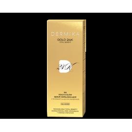 DERMIKA GOLD 24k SERUM DO TWARZY GG GOLD&GLOW DZIEŃ 30ML