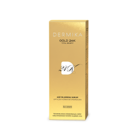 DERMIKA GOLD 24k SERUM DO TWARZY AGE BLURRING DZIEŃ 30ML