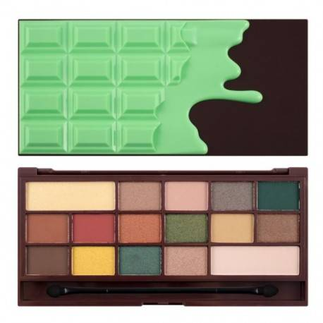MAKEUP REVOLUTION PALETA CIENI CHOCOLATE MINT