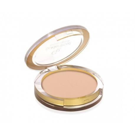 GOLDEN ROSE PRESSED POWDER PUDER PRASOWANY 105 SOFT BEIGE