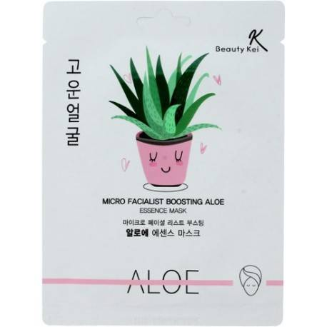 BEAUTY KEI ESSENCE MASK MASECZKA ALOES