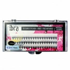 IBRA KĘPKI NATURALS C 0,10 8MM